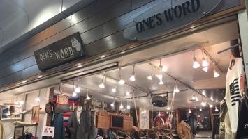 ONE'S WORDのメインイメージ