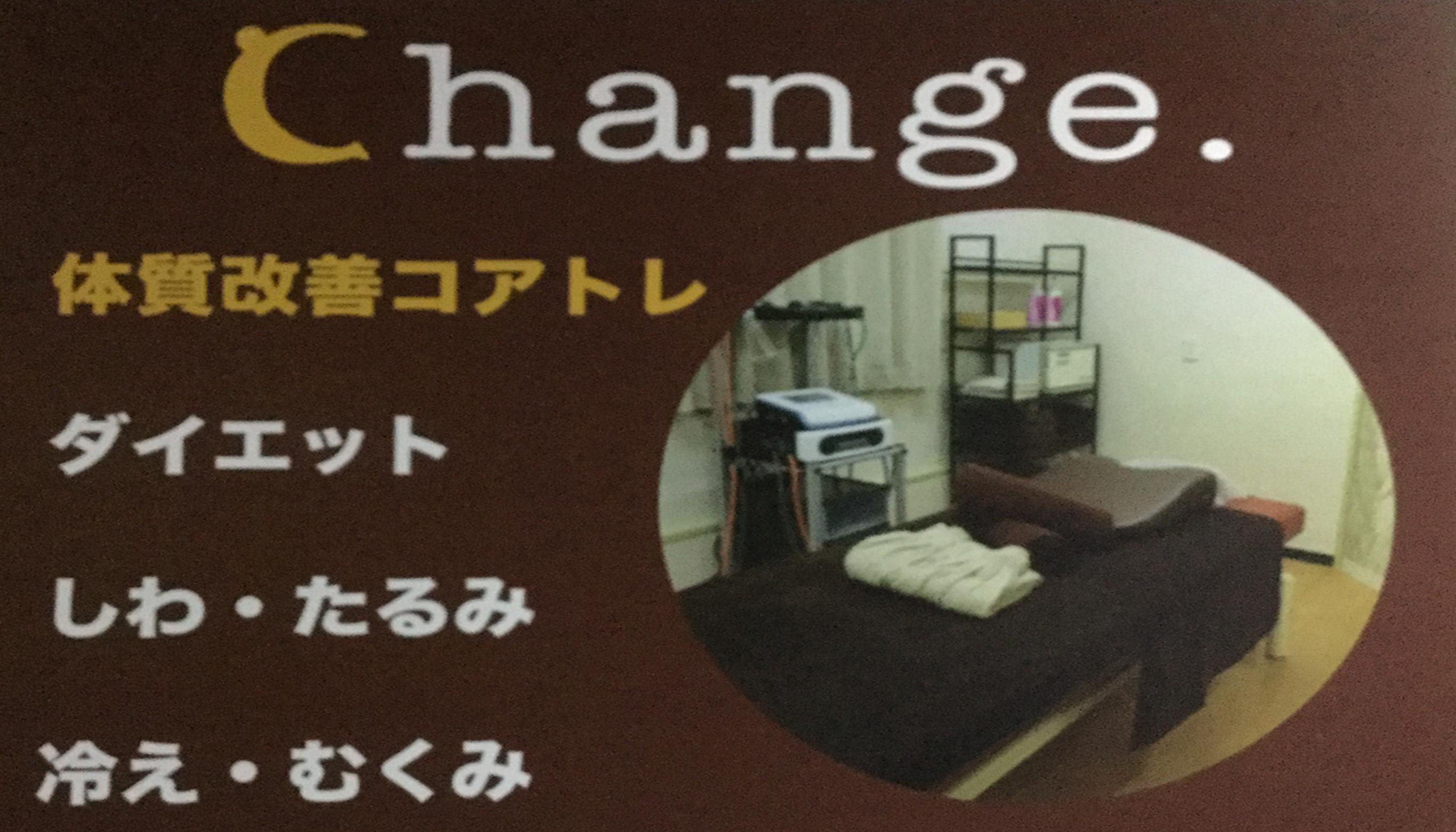 changeのメインイメージ